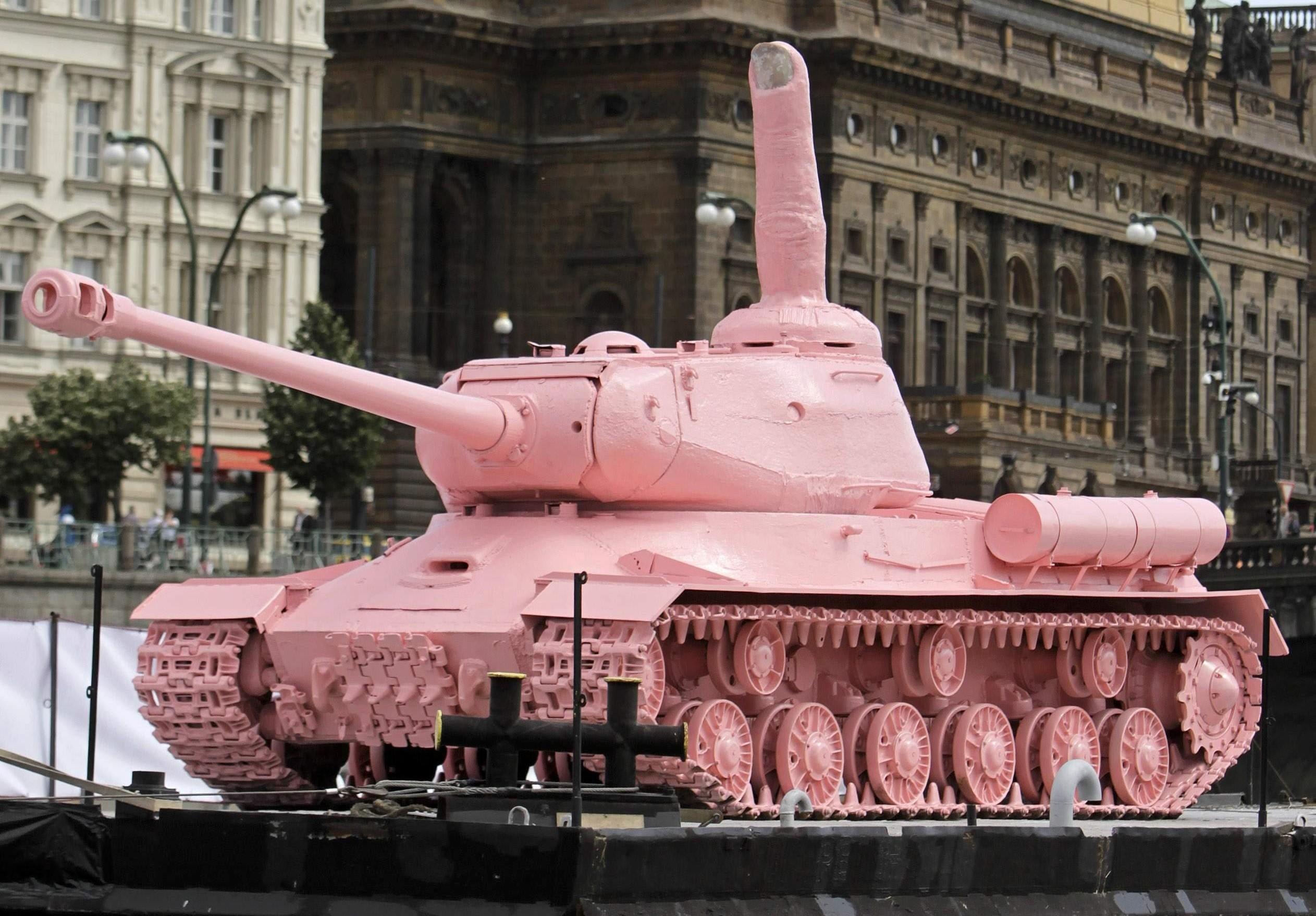 самые танк розовый фото нажмите