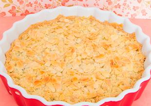 Tarta de Cerezas con Frangipane y Streusel
