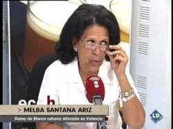Entrevista a Melba Santana, una de las Damas de Blanco