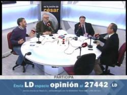 Tertulia política de Cesar. Congreso del PSOE en Sevilla