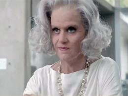 Katty Perry con 40 años más