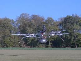 Primer vuelo en multicóptero