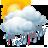 Intervalos nubosos con chubascos tormentosos y granizo