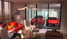 Aparcar el Lamborghini en el salón