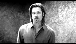 Brad Pitt, el primer hombre en protagonizar el anuncio de Chanel Nº5