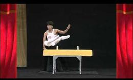 El mejor gimnasta japonés