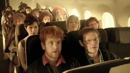 Elfos, hobbits y enanos en un avión
