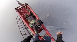 Escalando la torre más alta de Shangai