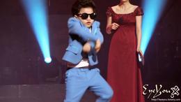 ¿Estilo Gangnam para niños?