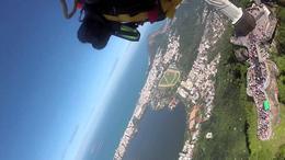 Jetman sobre Río de Janeiro