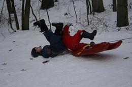 Las mejores caídas en la nieve