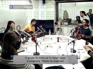 El Patio de tu Casa interpreta dos canciones en esRadio