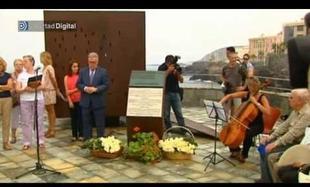 Homenaje en Las Palmas a las víctimas el accidente de Spanair