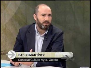 Punto de encuentro: Entrevista a Pablo Martínez, Concejal de cultura de Getafe