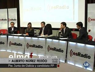 Tertulia política con Alberto Núñez Feijóo