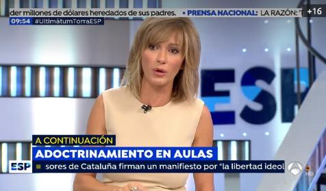 """Resultado de imagen de Susanna Griso: """"Muchos estamos a favor de la Inmersión Lingüística"""